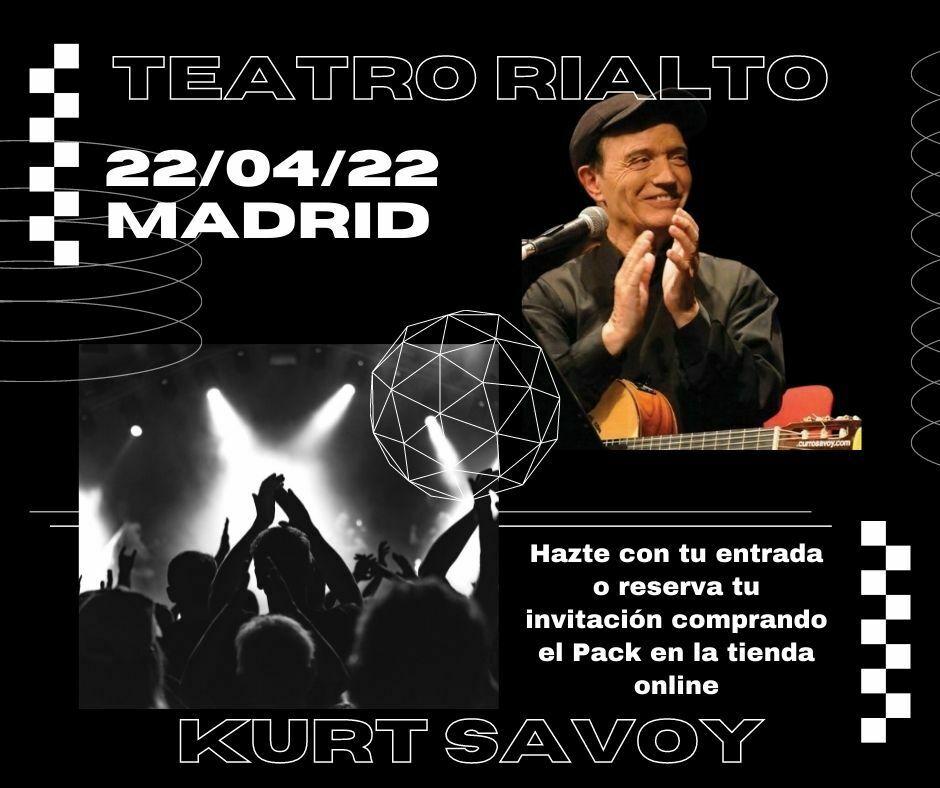 Kurt Savoy en el Teatro Rialto Madrid