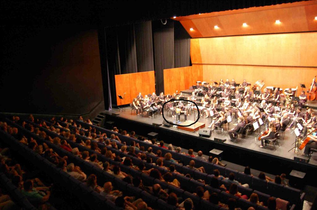 Orquesta Sinfónica Aguilas con Kurt Savoy